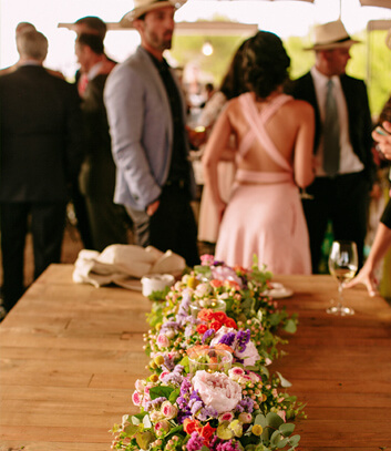 centro de mesa para bodas en menorca