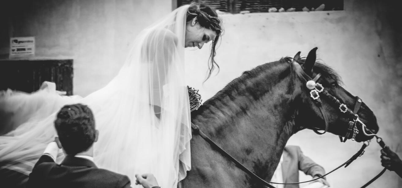 boda en caballo menorca